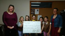 Girl Scout Troop 40035 Donate to Hope Fund